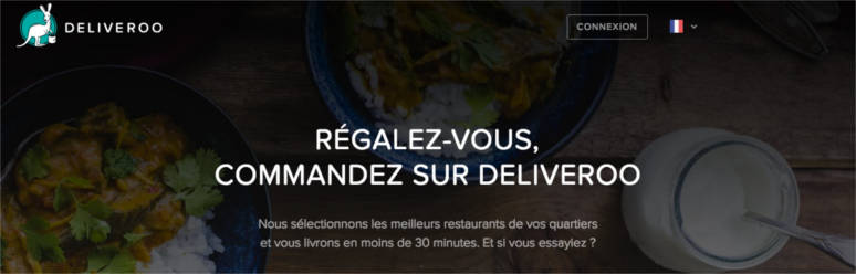 Deliveroo unique selling proposition