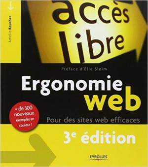 Livre Ergonomie Web d'Amélie Boucher