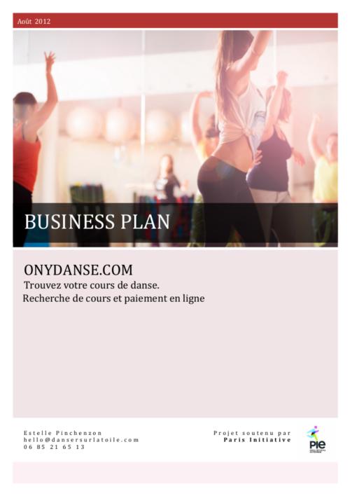Exemple De Business Plan Pour Start Up Et Créateur D Entreprise