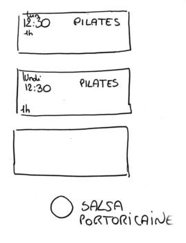 capsules de cours sur papier